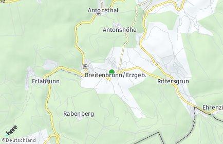 Stadtplan Breitenbrunn/Erzgebirge