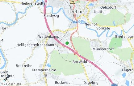 Stadtplan Breitenburg