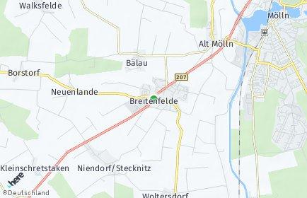 Stadtplan Breitenfelde