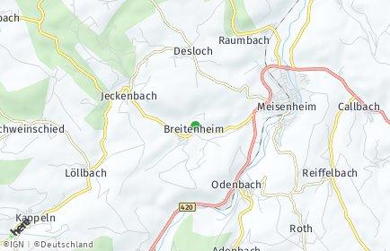 Stadtplan Breitenheim