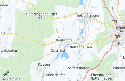 Stadtplan Breitenthal (Schwaben)