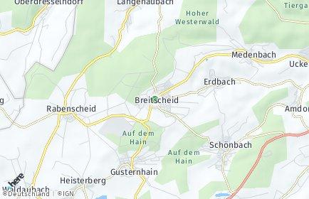 Stadtplan Breitscheid (Hessen)