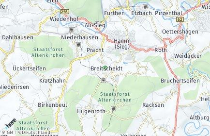 Stadtplan Breitscheidt