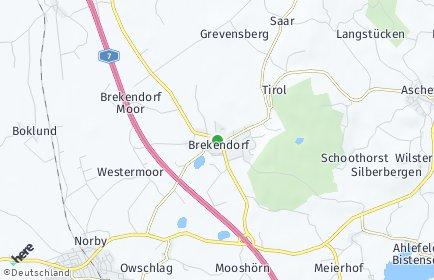 Stadtplan Brekendorf