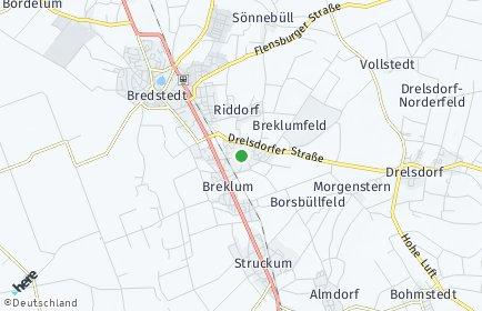 Stadtplan Breklum