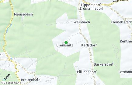 Stadtplan Bremsnitz