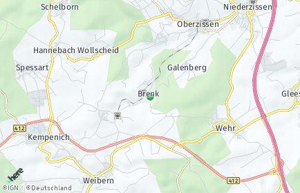 Stadtplan Brenk