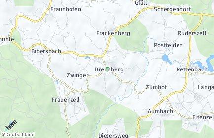 Stadtplan Brennberg