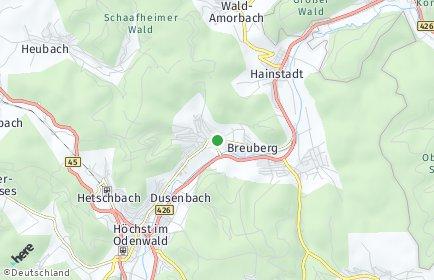 Stadtplan Breuberg