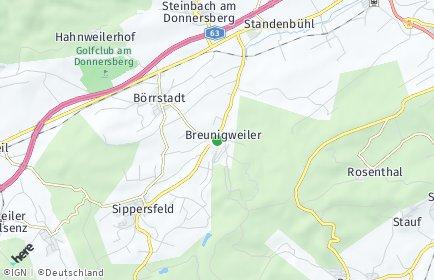 Stadtplan Breunigweiler
