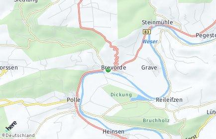 Stadtplan Brevörde