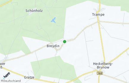 Stadtplan Breydin