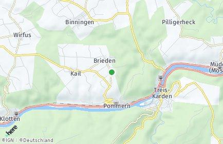 Stadtplan Brieden