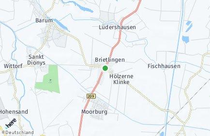 Stadtplan Brietlingen