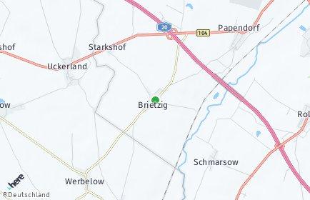Stadtplan Brietzig