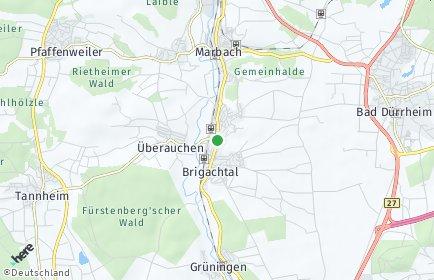 Stadtplan Brigachtal