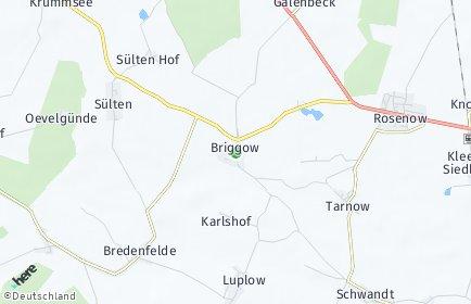 Stadtplan Briggow