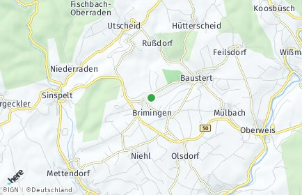 Stadtplan Brimingen