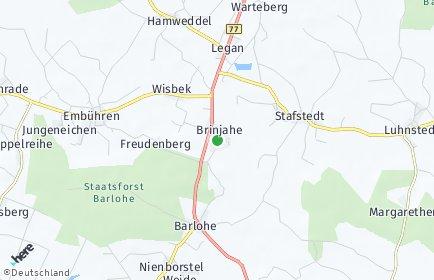 Stadtplan Brinjahe