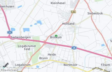 Stadtplan Brinkum