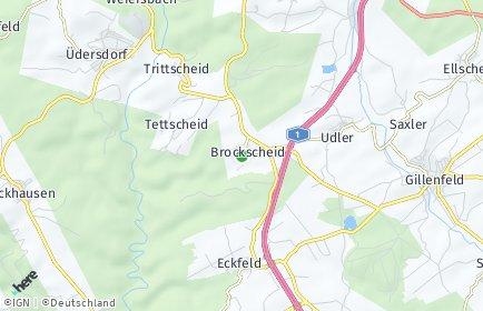 Stadtplan Brockscheid