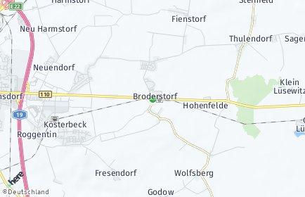 Stadtplan Broderstorf