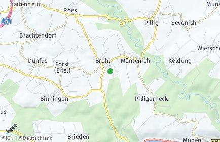 Stadtplan Brohl