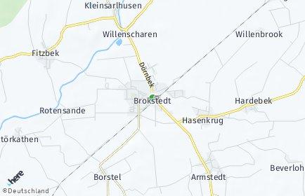 Stadtplan Brokstedt
