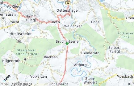 Stadtplan Bruchertseifen