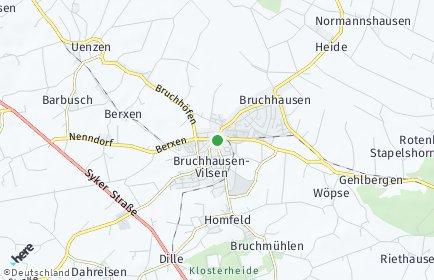 Stadtplan Bruchhausen-Vilsen