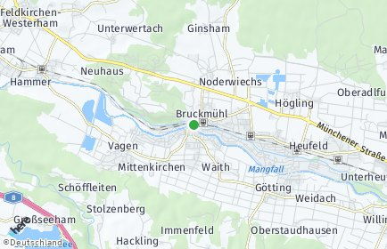 Stadtplan Bruckmühl