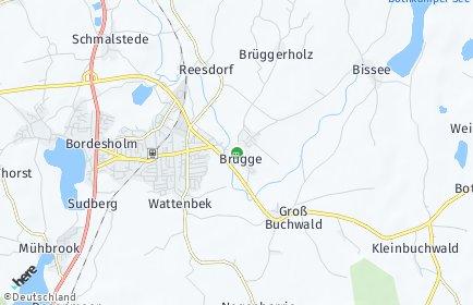 Stadtplan Brügge