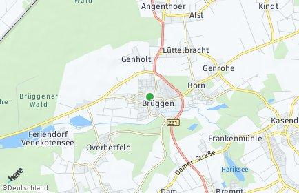Stadtplan Brüggen (Niederrhein)