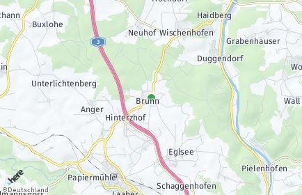 Stadtplan Brunn (Oberpfalz)