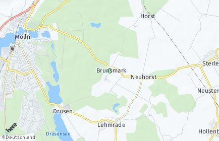 Stadtplan Brunsmark