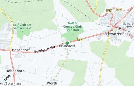 Stadtplan Brunstorf