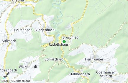 Stadtplan Bruschied