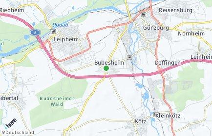 Stadtplan Bubesheim
