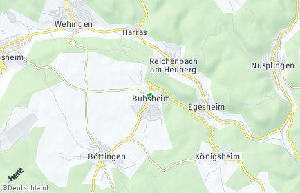 Stadtplan Bubsheim