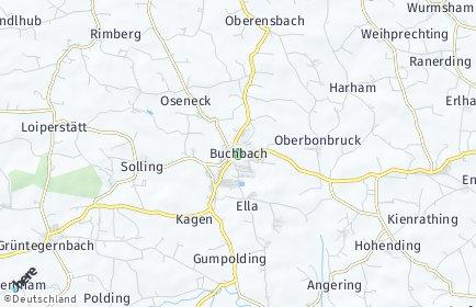 Stadtplan Buchbach