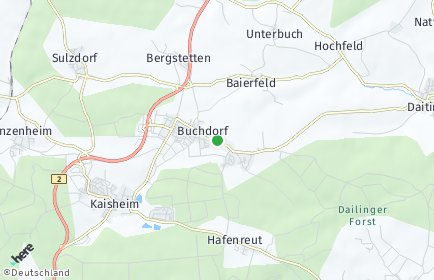 Stadtplan Buchdorf