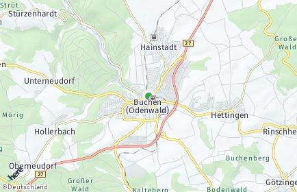 Stadtplan Buchen (Odenwald)