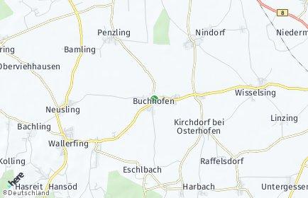 Stadtplan Buchhofen