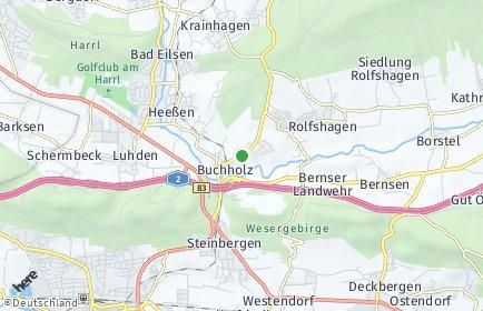 Stadtplan Buchholz bei Stadthagen