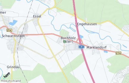Stadtplan Buchholz (Aller)