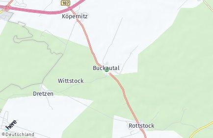 Stadtplan Buckautal