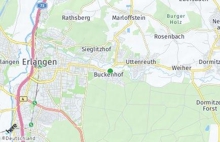 Stadtplan Buckenhof