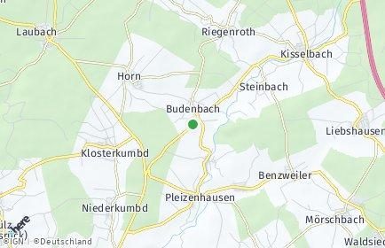 Stadtplan Budenbach