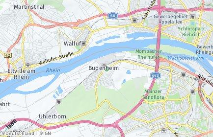 Stadtplan Budenheim