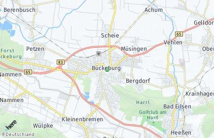 Stadtplan Bückeburg